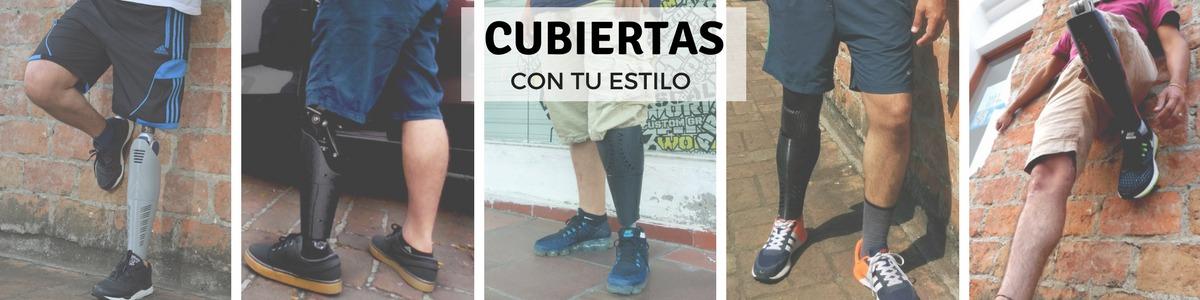 Conoce los prediseños de Cubiertas transtibiales o transfemorales protesis de pierna con impresión 3D
